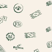 Murs à fleurs visual identity