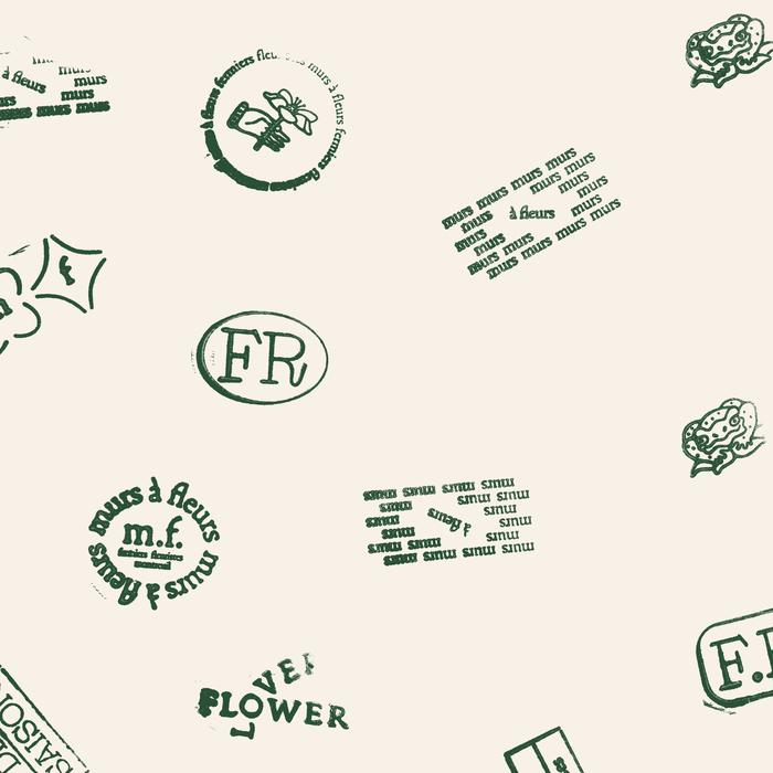 Murs à fleurs visual identity 1