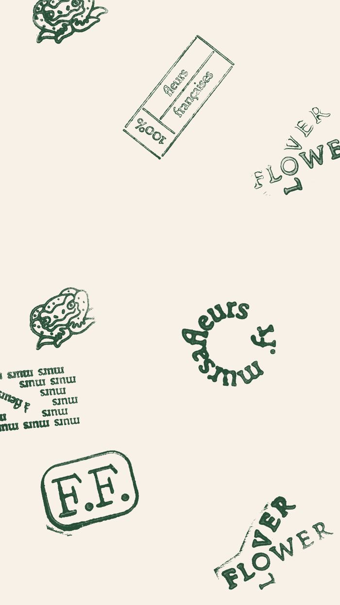 Murs à fleurs visual identity 9