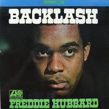 Freddie Hubbard – <cite>Backlash</cite> album art