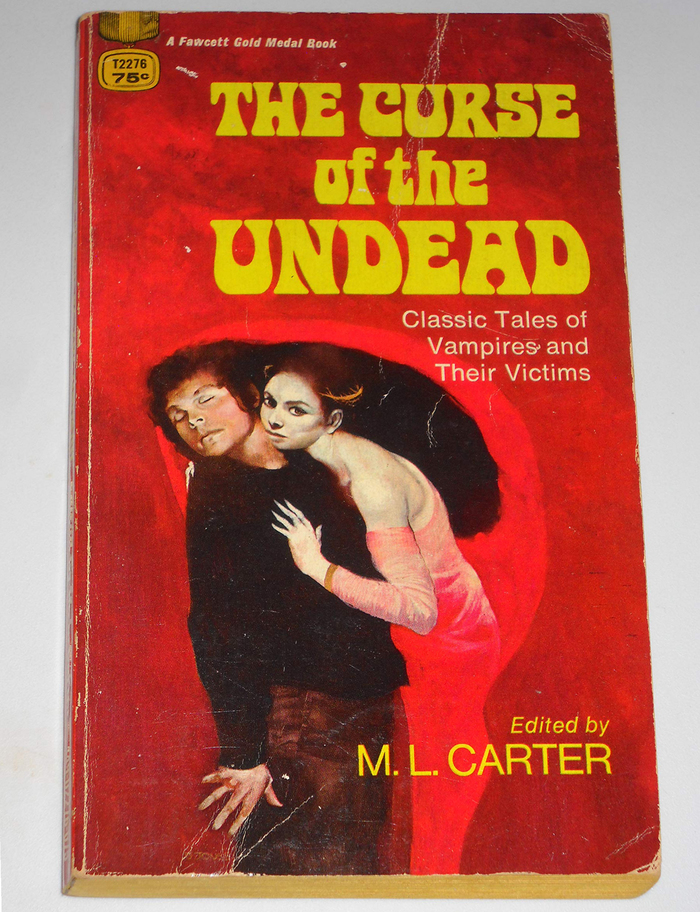 The Curse of the Undead book cover 2