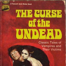 <span><cite>The Curse of the Undead</cite> book cover</span>