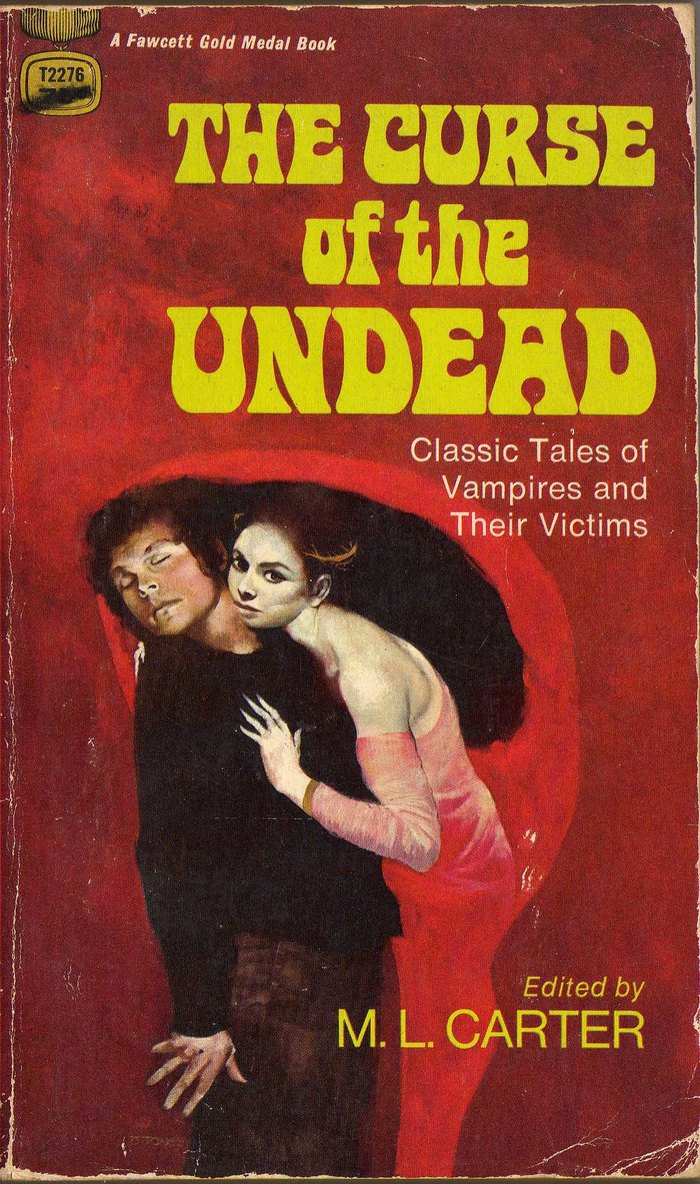 The Curse of the Undead book cover 1