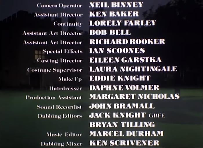 Hammer House of Horror (1980) titles 7