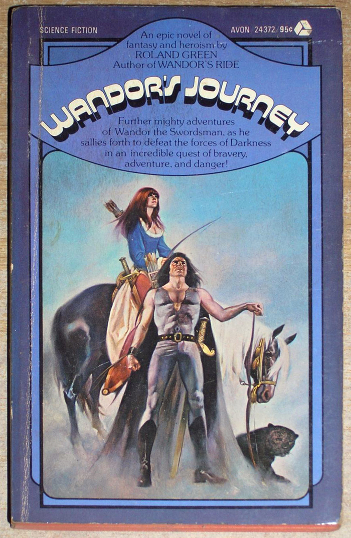 Wandor's Journey, Avon, 1975. [More info on ISFDB]
