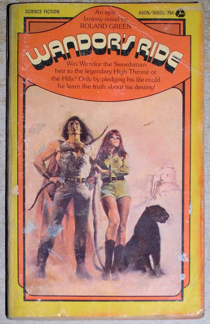 Wandor's Ride, Avon, 1973. [More info on ISFDB]