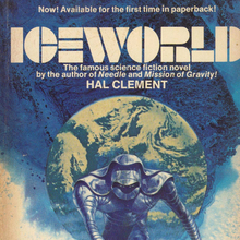 <cite>Iceworld</cite> by Hal Clement (Lancer)