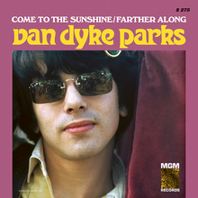 "Van Dyke Parks – ""Come to the Sunshine"" / ""Farther Along"" single cover"
