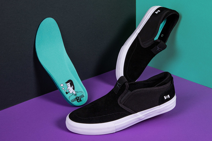 Julien Fincker & State Footwear limited edition shoe design 1