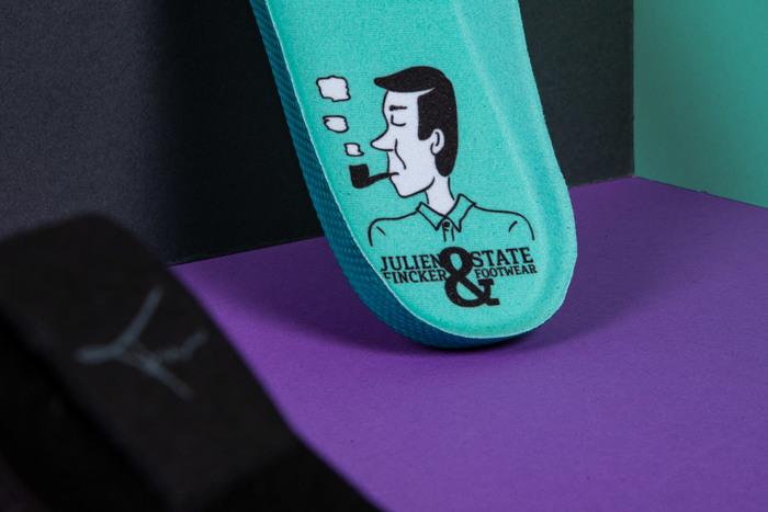 Julien Fincker & State Footwear limited edition shoe design 2