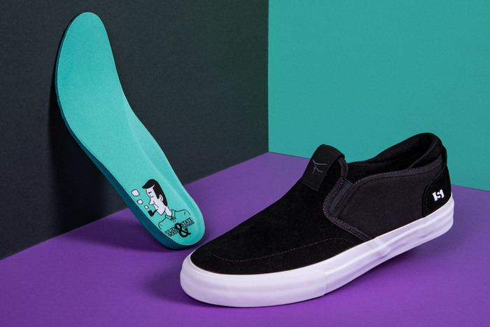 Julien Fincker & State Footwear limited edition shoe design 3
