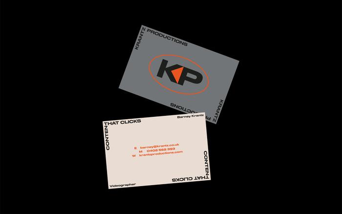 Krantz Productions visual identity and website 3