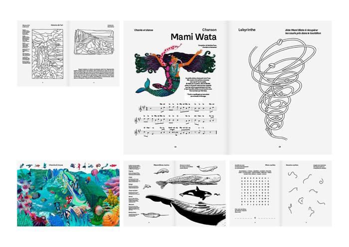 "Les fabuleux cahiers Nº1, ""Sirènes"" 2"