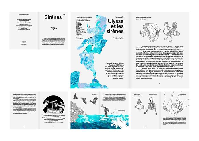 "Les fabuleux cahiers Nº1, ""Sirènes"" 3"