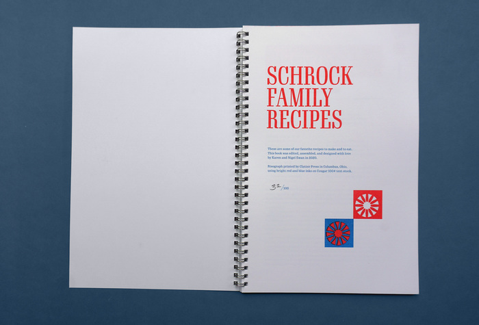 Schrock Family Recipes 2