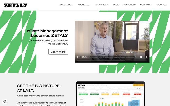 Zetaly website 1