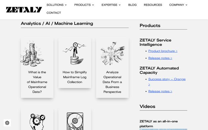 Zetaly website 5
