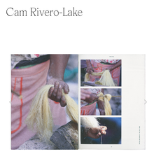 Cam Rivero-Lake portfolio website