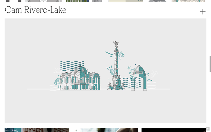 Cam Rivero-Lake portfolio website 4