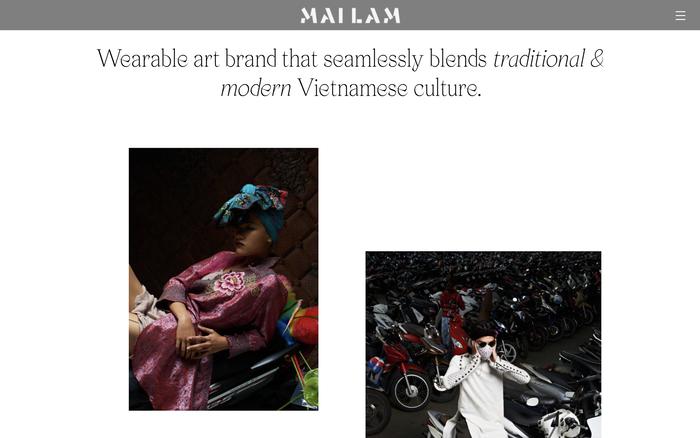Mailam portfolio website 2