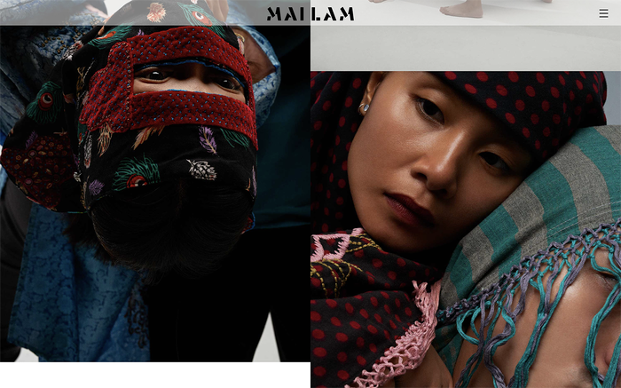 Mailam portfolio website 1