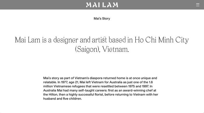 Mailam portfolio website 6