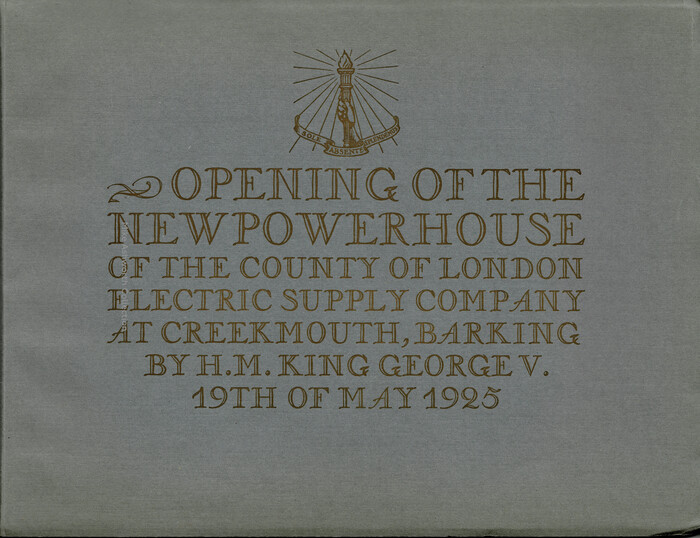 The open caps used on the cover are from , issued by Deberny & Peignot in 1924 to complement Naudin. The typeface was also sold in the U.S. under the name Sylvan.