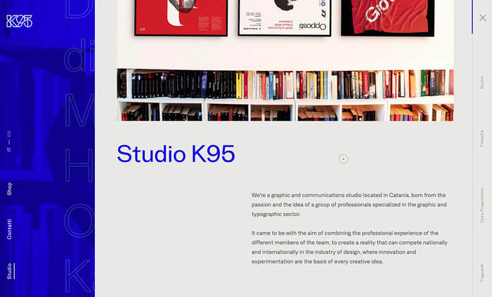 Studio K95 website 4