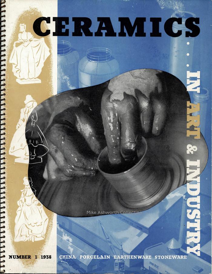 Ceramics in Art & Industry, number 1, 1938