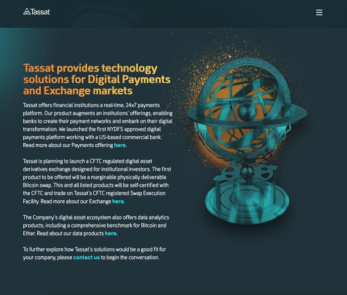Tassat website 3