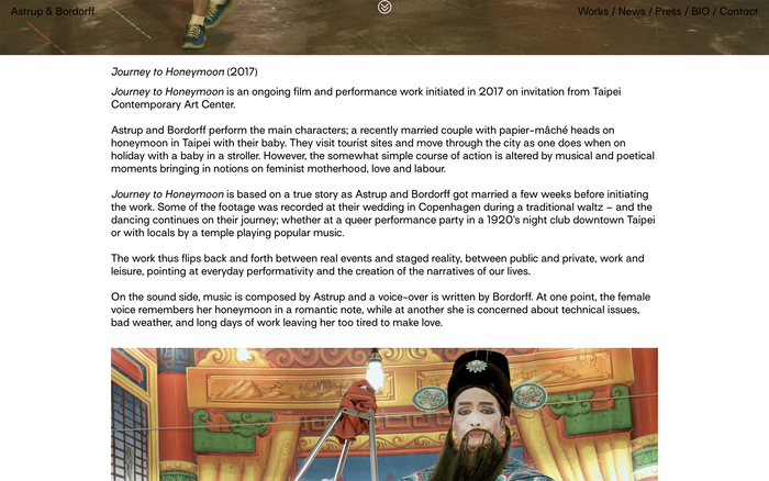 Astrup & Bordorff website 4