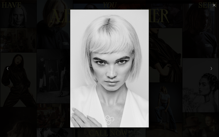 Alexander Bather portfolio website 2