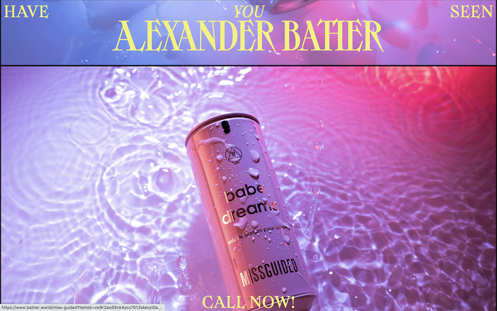 Alexander Bather portfolio website 4