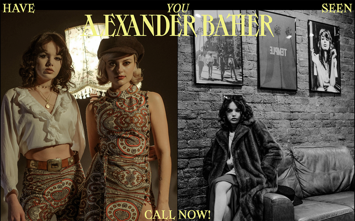 Alexander Bather portfolio website 5