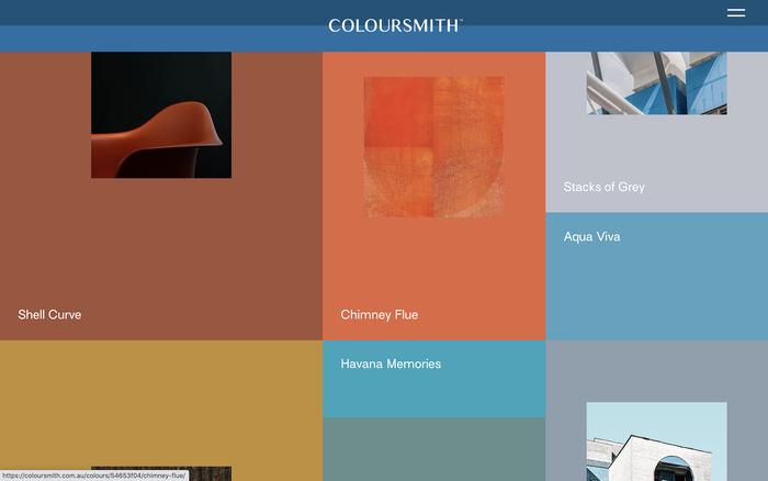 Coloursmith website 3