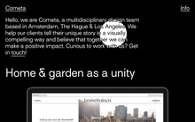 Cometa website