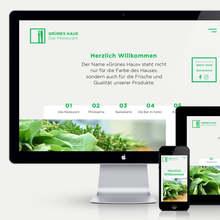 Grünes Haus – Das Restaurant website