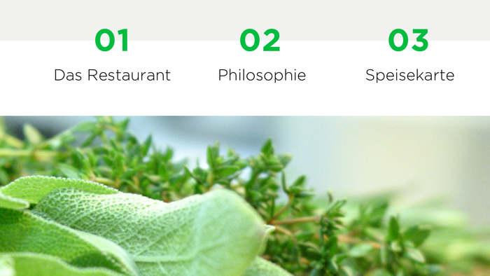 Grünes Haus – Das Restaurant website 3