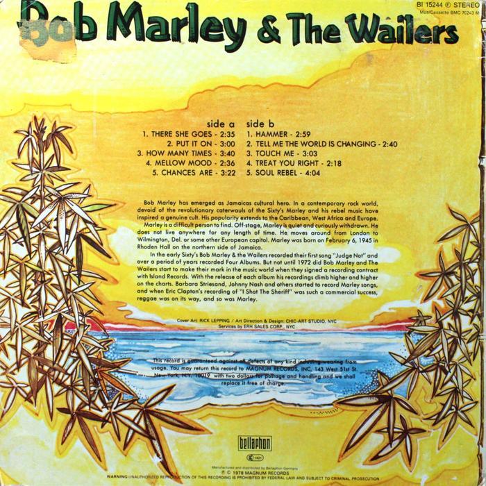 Bob Marley and the Wailers – Bob Marley and the Wailers 2