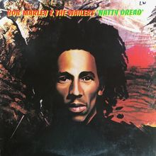 Bob Marley &amp; The Wailers – <cite>Natty Dread</cite> album art