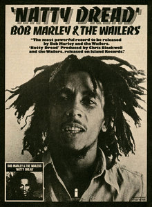 <cite>Natty Dread</cite> advertisement