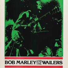 Bob Marley and the Wailers at the Paramount Theatre concert posters