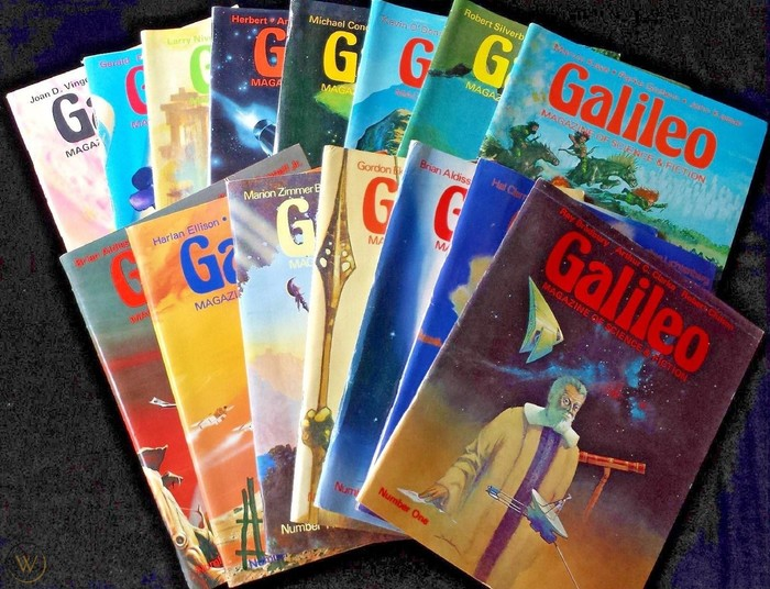 Galileo Magazine of Science & Fiction 1