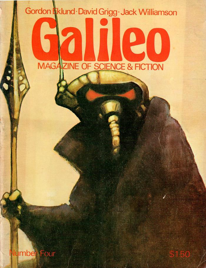 #4 (July 1977) with cover art by Tom Barber.