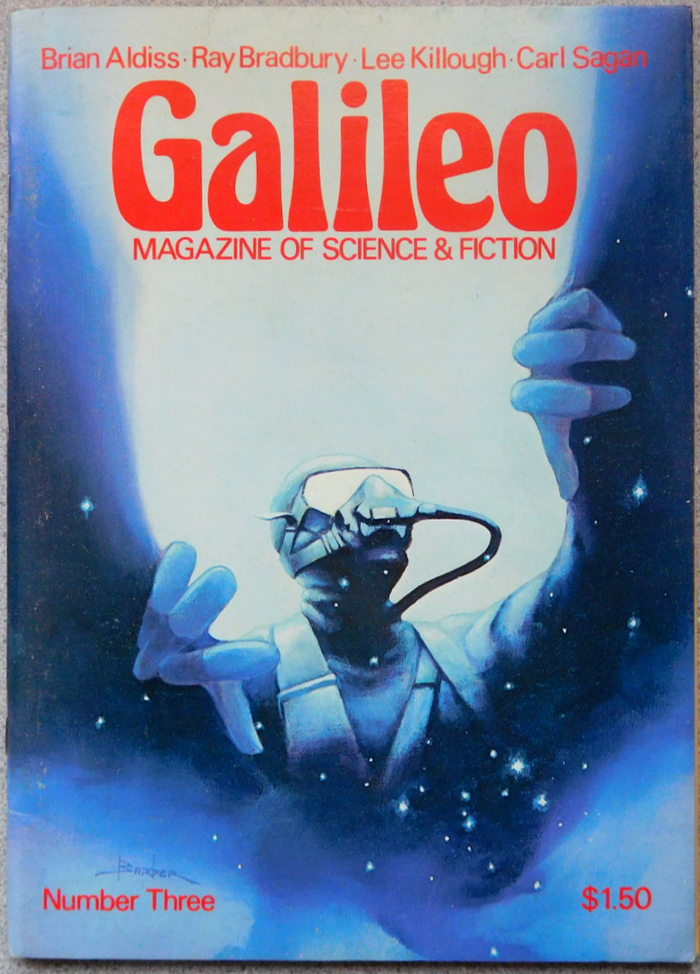 #3 (April 1977) with cover art by Tom Barber.