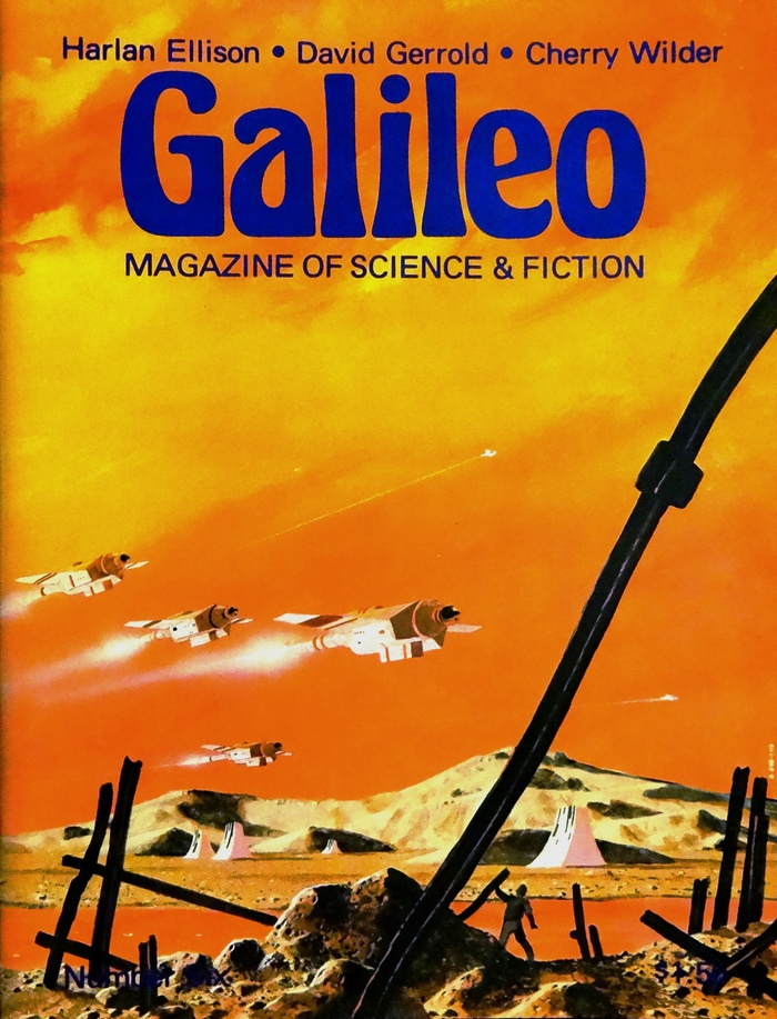 #6 (Jan. 1978) with cover art by Ron Miller.