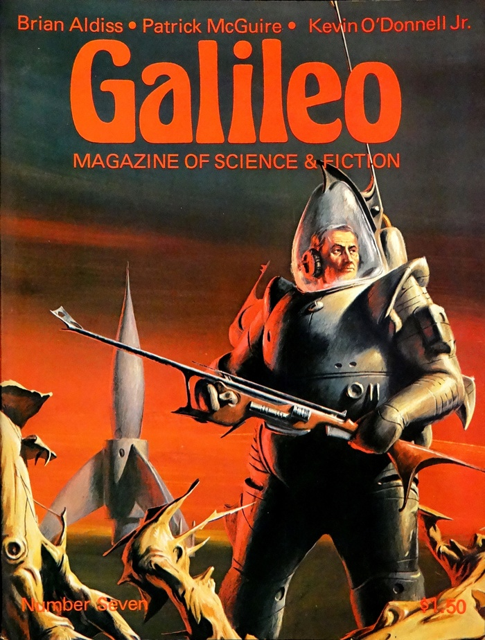 #7 (March 1978) with cover art by .