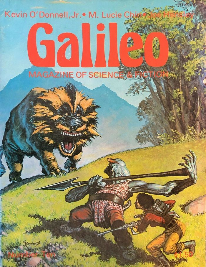 #10 (Se. 1978) with cover art by Larry Blamire.