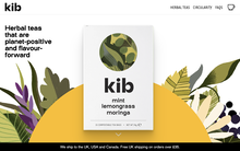 Kibtea website