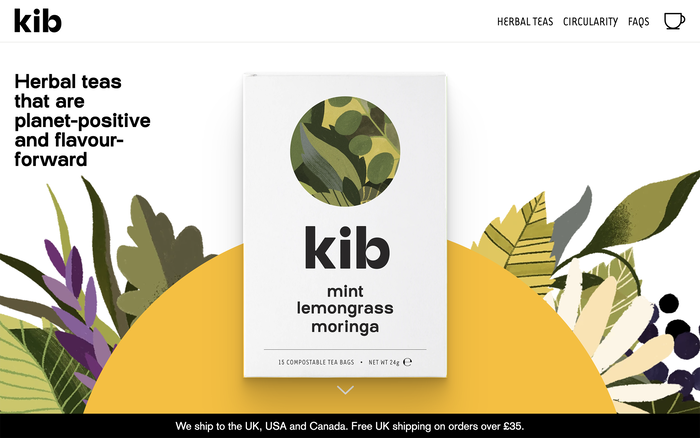 Kibtea website 1